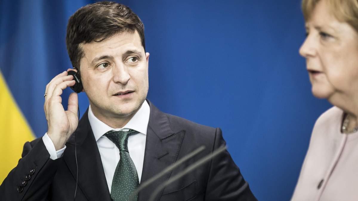 Зеленський цінує величезний особистий внесок Меркель, – посол