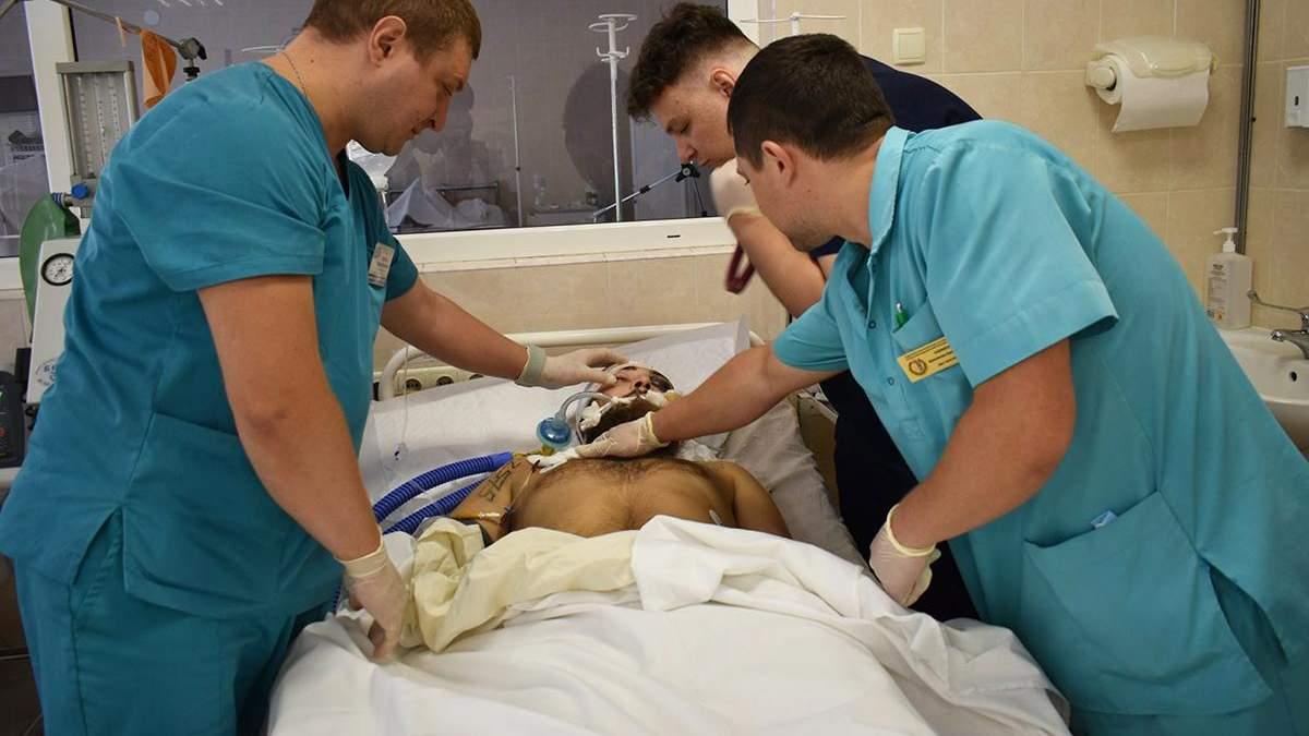 Військовий Володимир Аджавенко помер у лікарні Дніпра