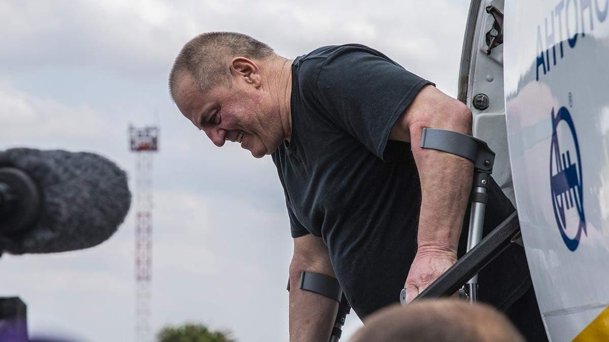 Освобожденный Бекиров обратился с мощной речью к крымским татарам: видео