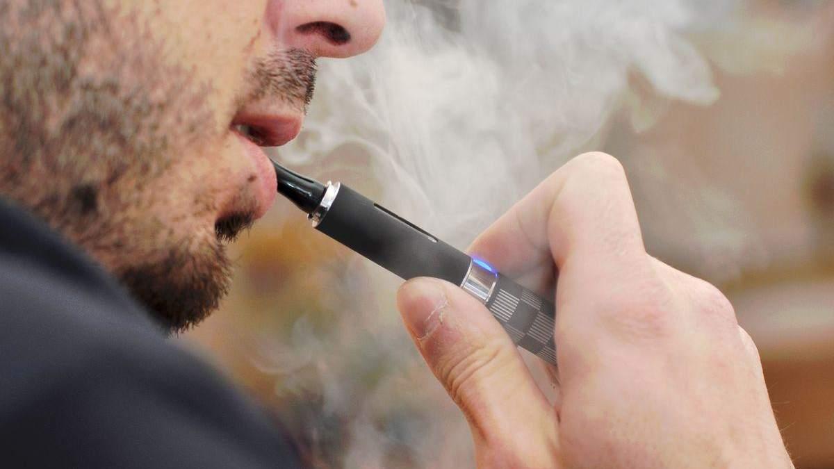 Нормативне регулювання до електронних цигарок
