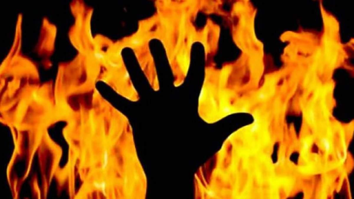 Fire challenge в Украине 2019 – в Черкассах парень поджег сестру