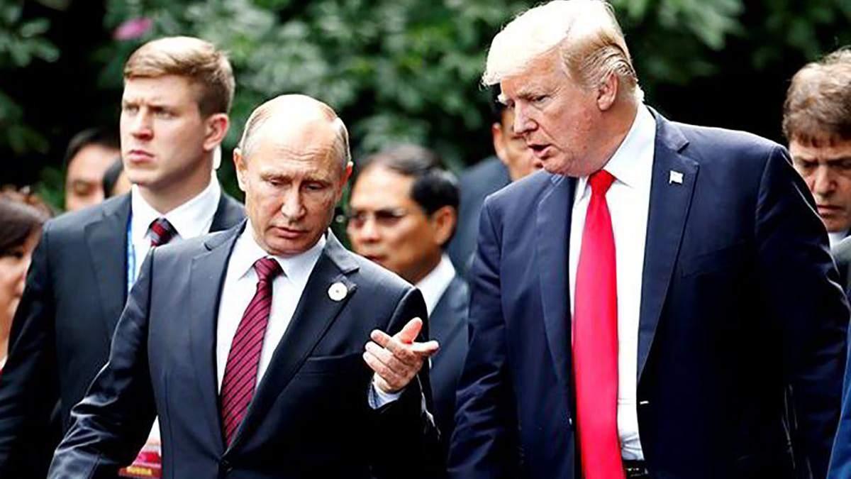 Кремль готовий обговорювати ймовірність оприлюднення розмов Путіна і Трампа