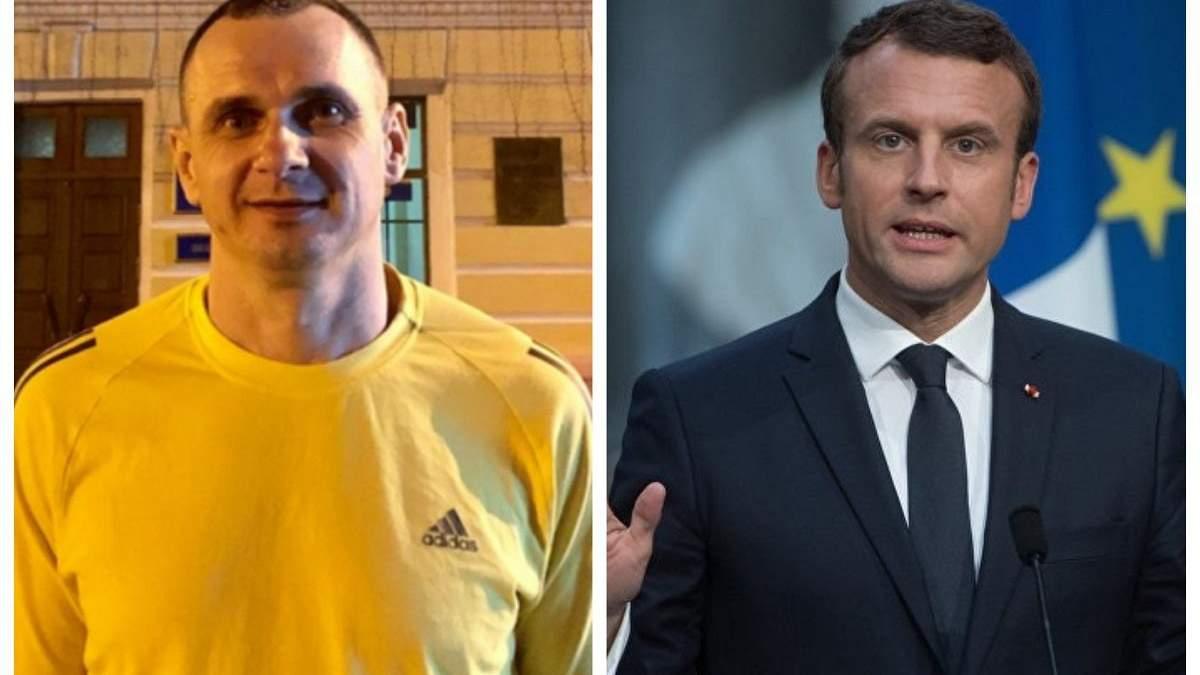 Сенцов зустрінеться з французьким президентом Макроном, – ЗМІ