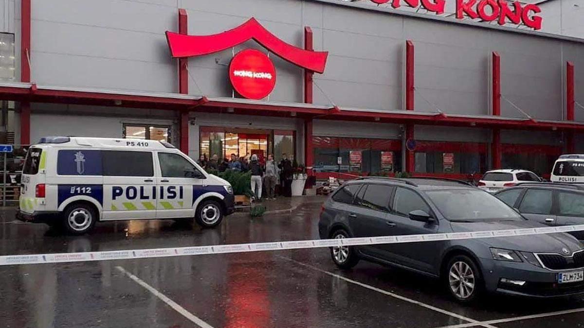 Резня в Финляндии