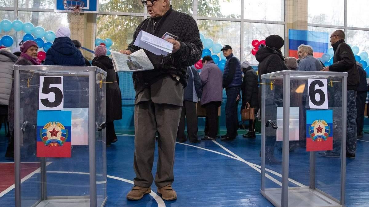 Выборы в ОРДЛО должны пройти только по украинскому законодательству