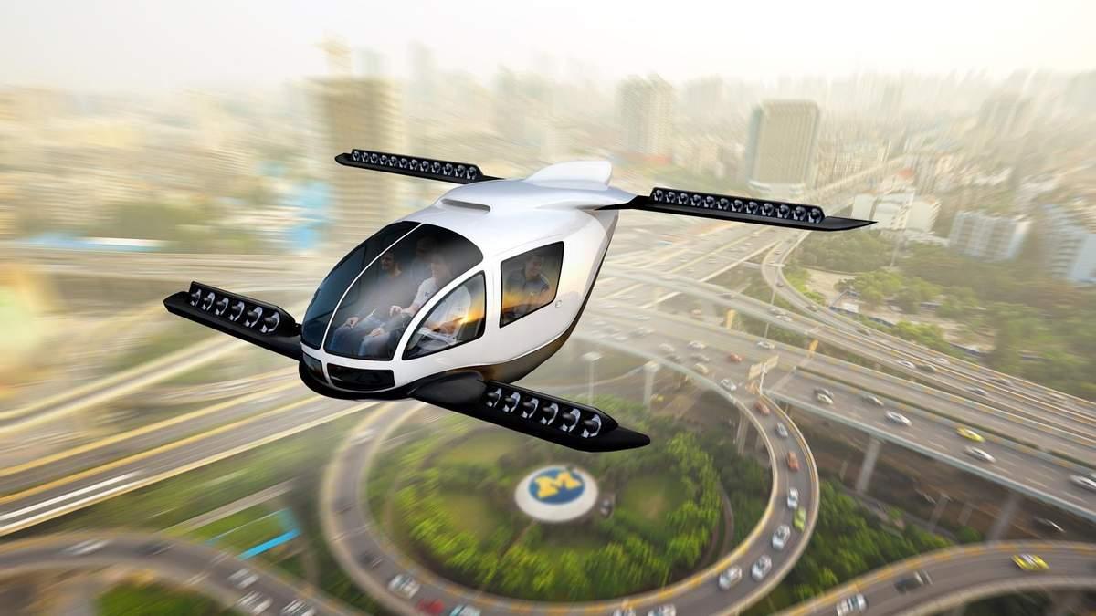 Hyundai работает над собственным летающим авто