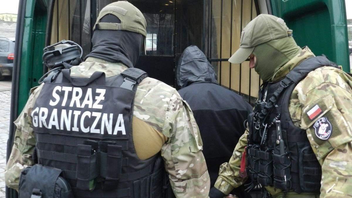 Польські прикордонники затримали злочинця з України