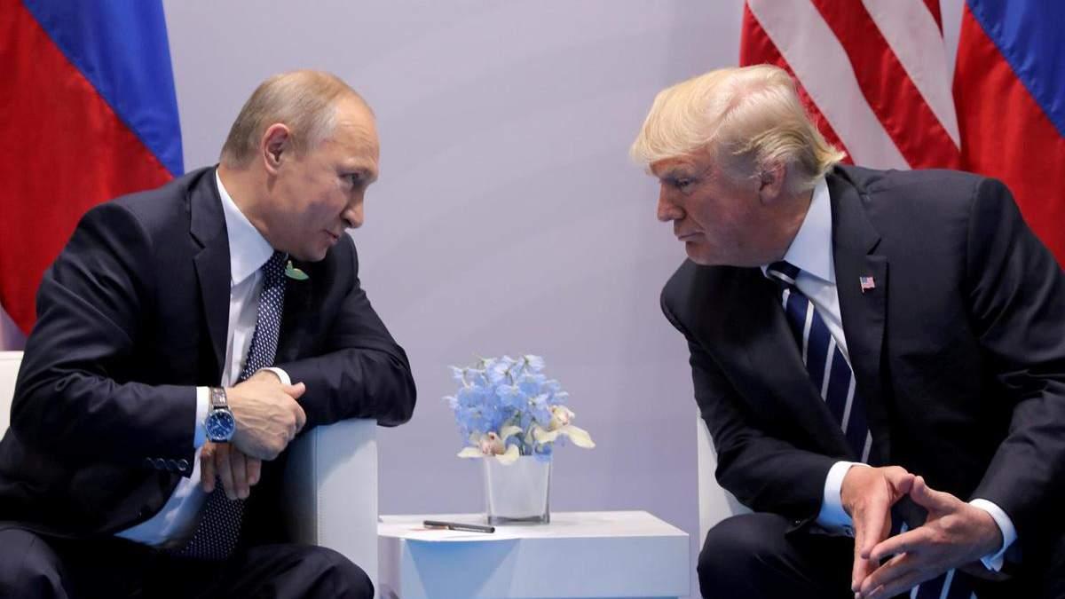 Трамп просив Путіна допомогти йому на виборах 2020 року, – Яковина