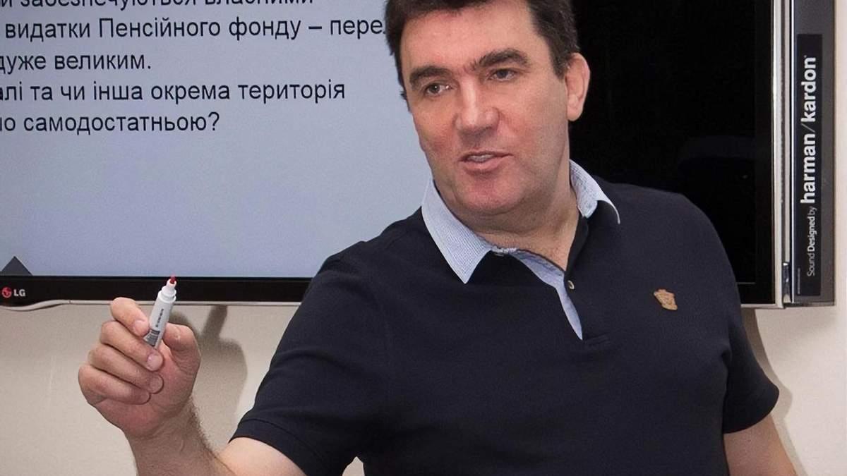 Олексій Данилов новий секретар РНБО – призначення Зеленського