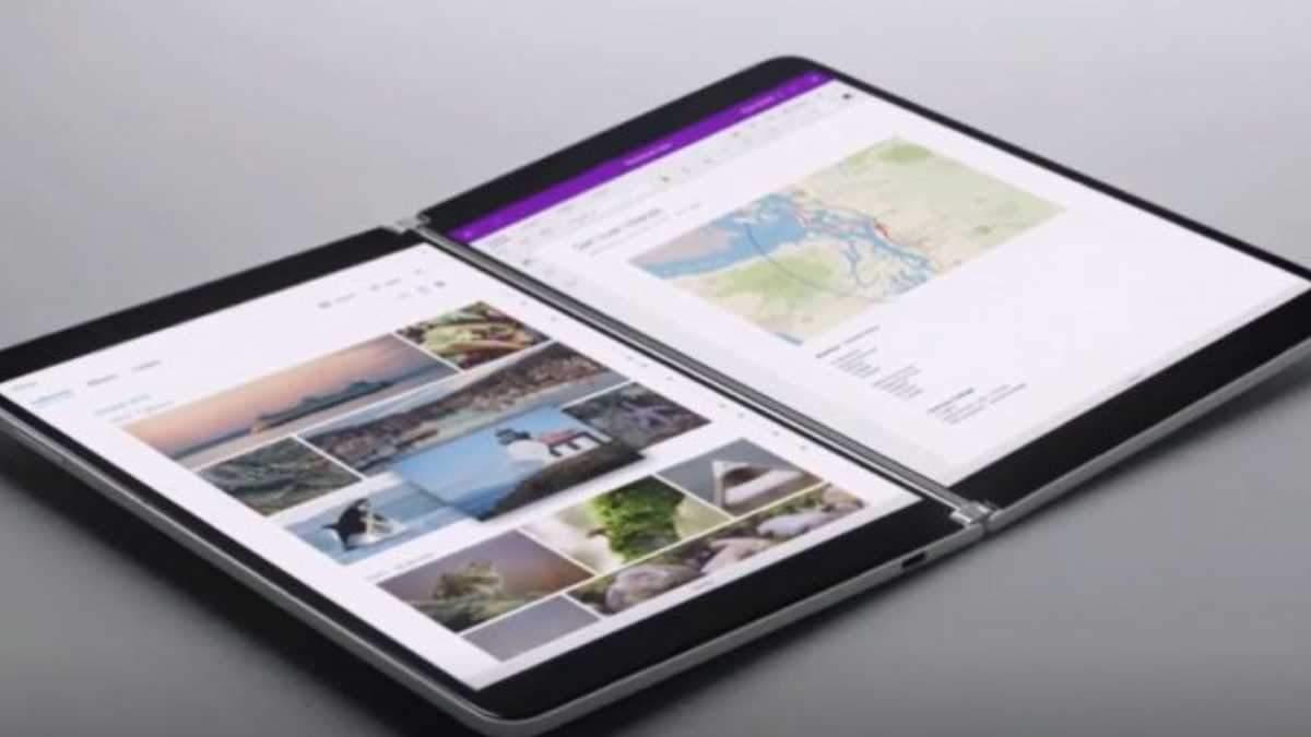 Microsoft представила складний планшет Surface Neo