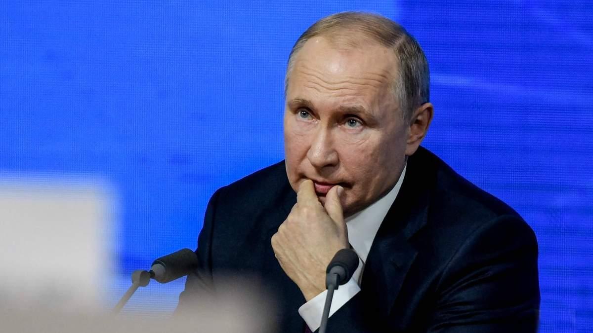 Путин прокомментировал политику Зеленского