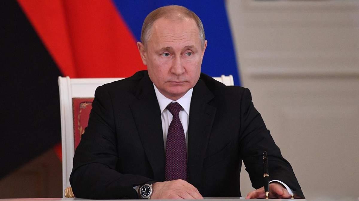 Путін розв'язав війну на Донбасі, тому Україна хоче переговорів з ним