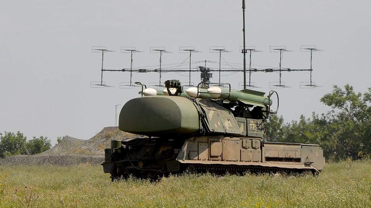 Навчання у підрозділах зенітних ракетних військ Повітряних Сил ЗСУ