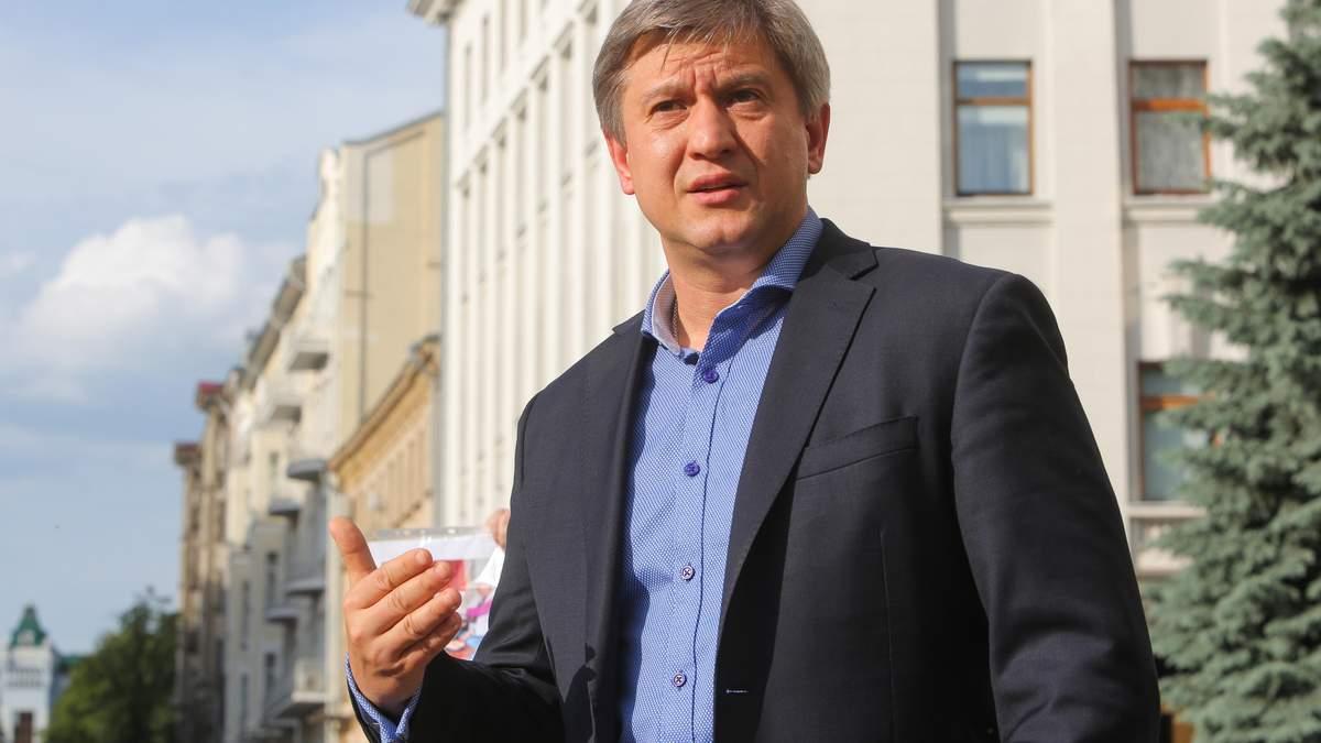 Данилюк заявил, что присутствовал во время телефонного разговора Трампа с Зеленским