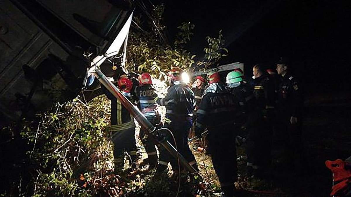 В аварии в Румынии погибли 10 человек