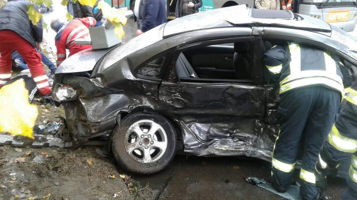 Смертельная авария в Запорожье