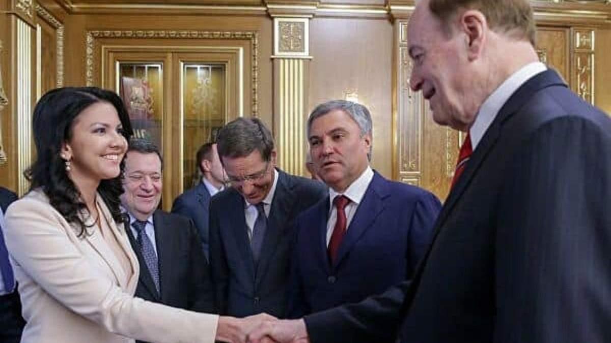 В США ФБР допросило русского депутата Юмашеву