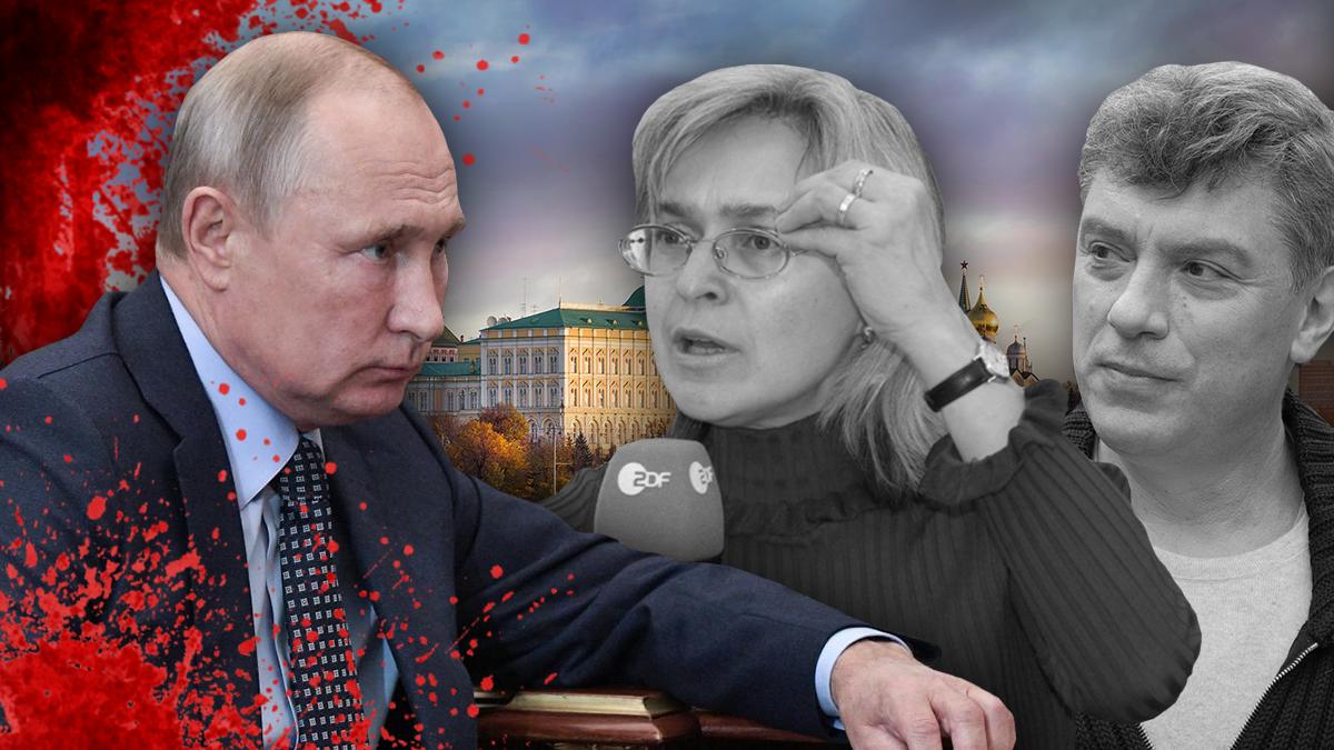 Борис Немцов и Анна Политковская поплатились жизнью за критику президента РФ