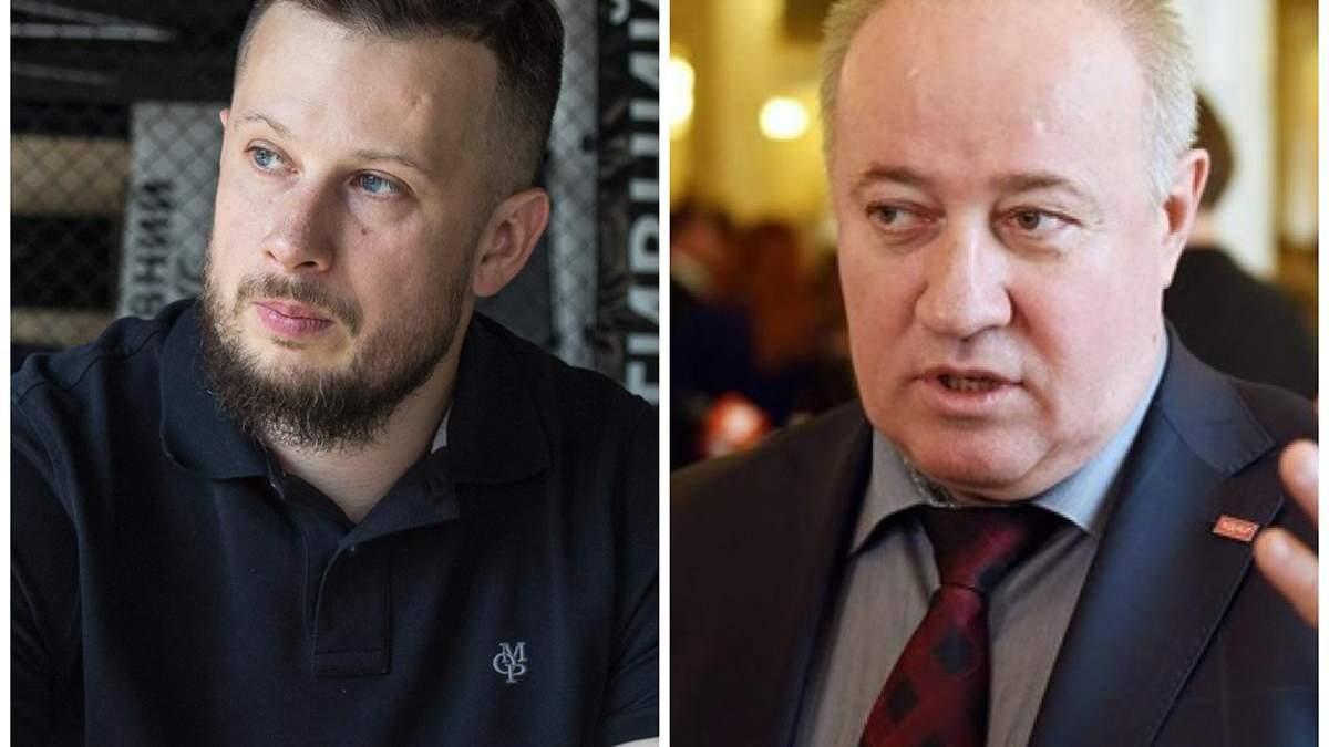 Андрій Білецький та Віктор Чумак