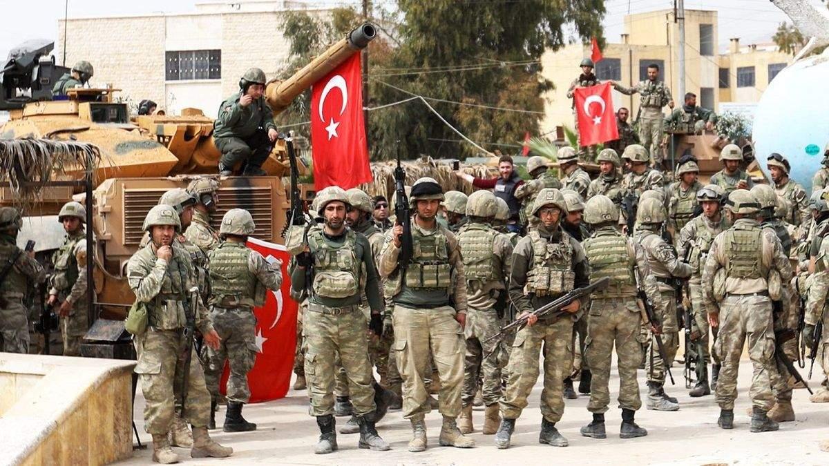 Туреччина розпочала військову операцію в Сирії