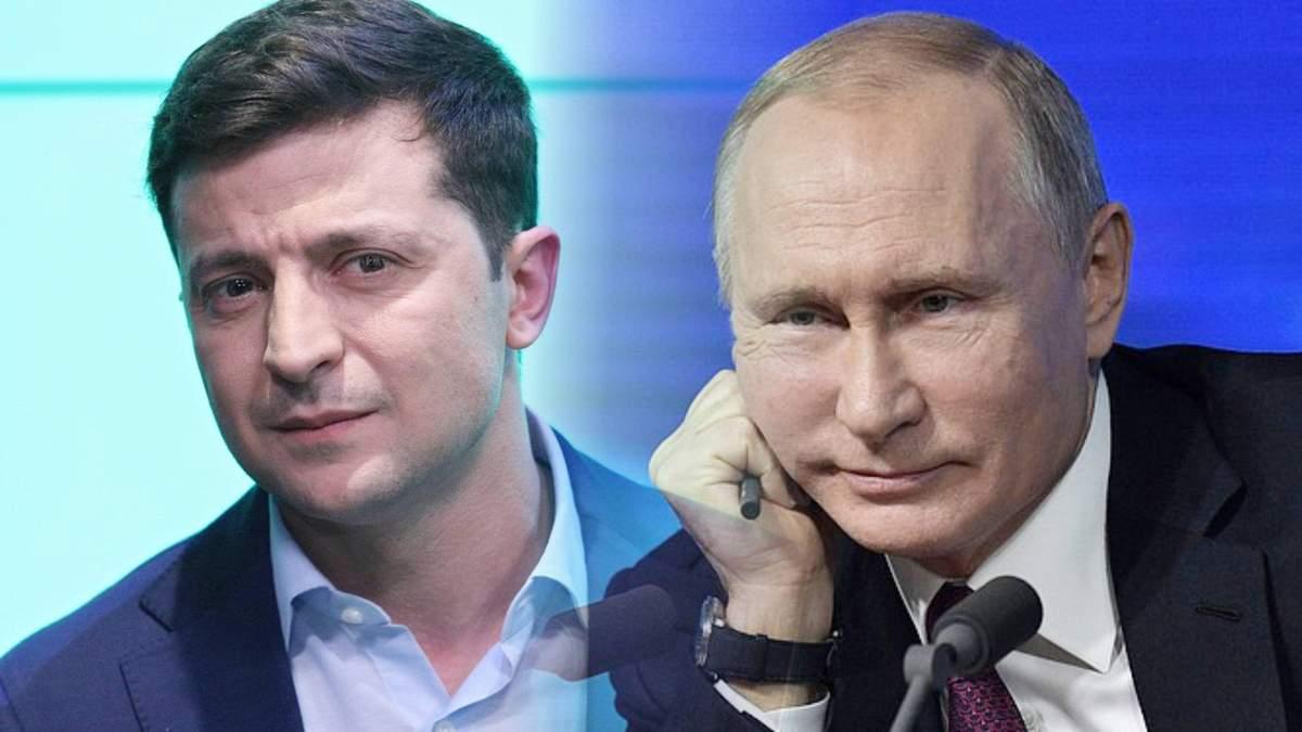 Зеленский: моя личная встреча с Путиным должна состояться только для прекращения войны