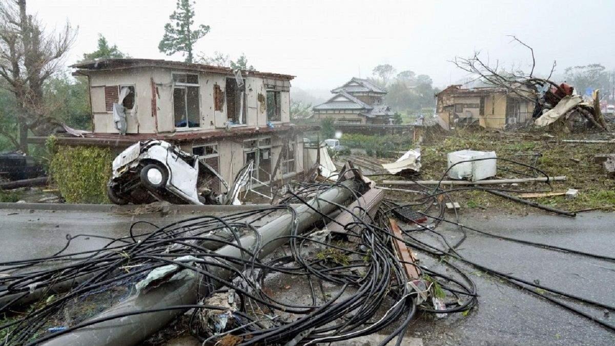 Тайфун достигнет столицы с субботы на воскресенье