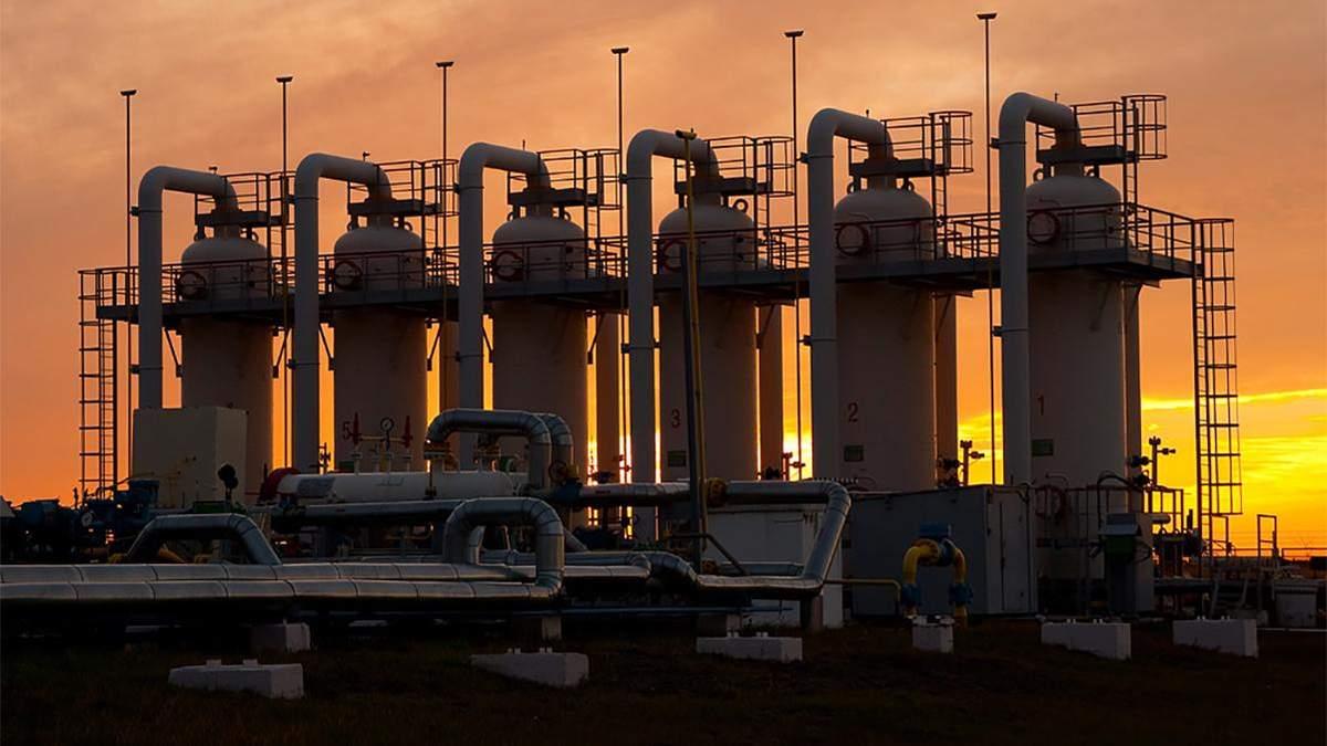 Украина закачала рекордный за 10 лет объем газа – 21 миллиард кубических метров