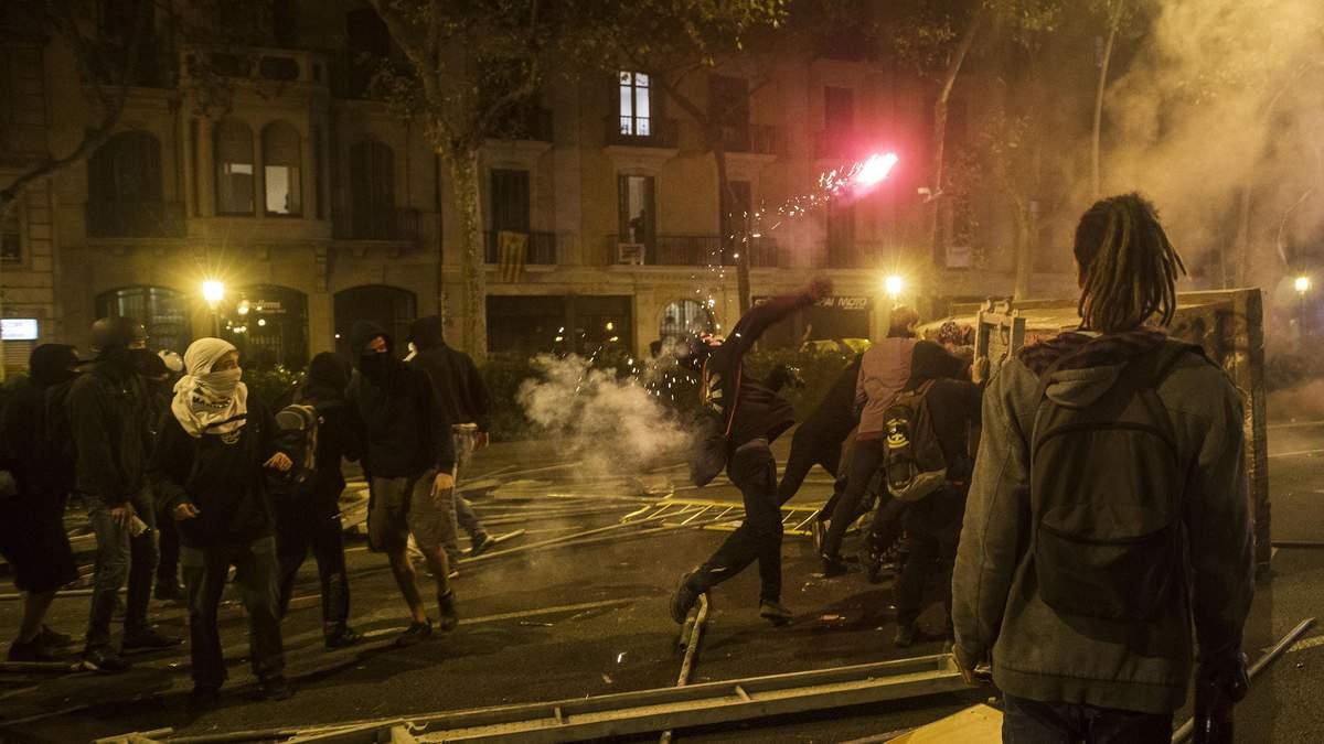 Протесты в Барселоне 2019 – видео и фото протестов в Каталонии