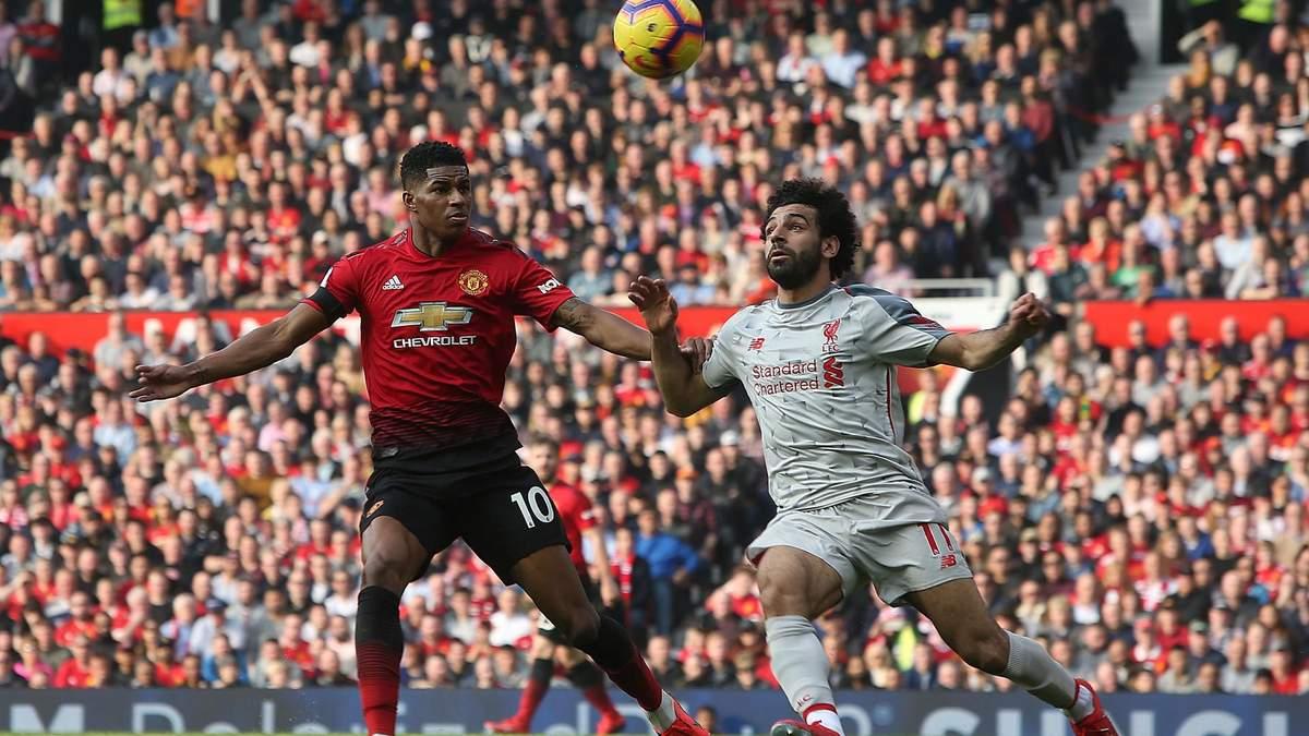 Манчестер юнайтед ливерпуль видео смотреть матч
