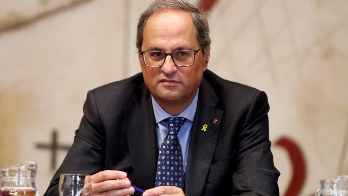 Президент Каталонии хочет новый референдум о независимости региона