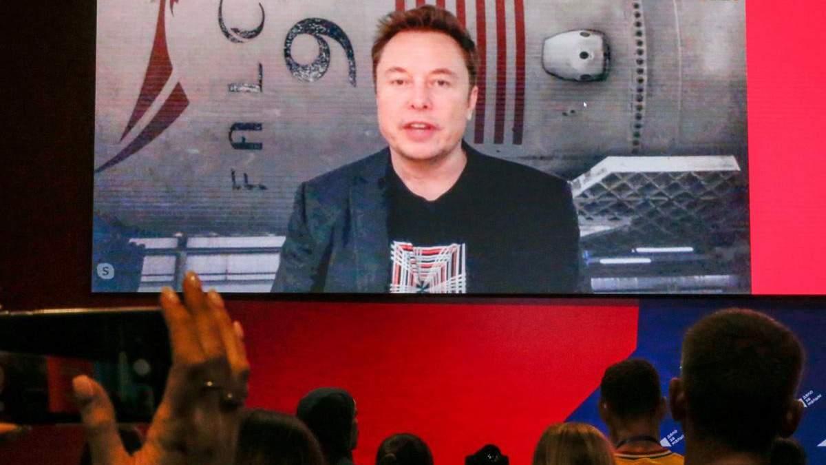 Илон Маск вышел в прямой эфир на российском бизнес-форуме