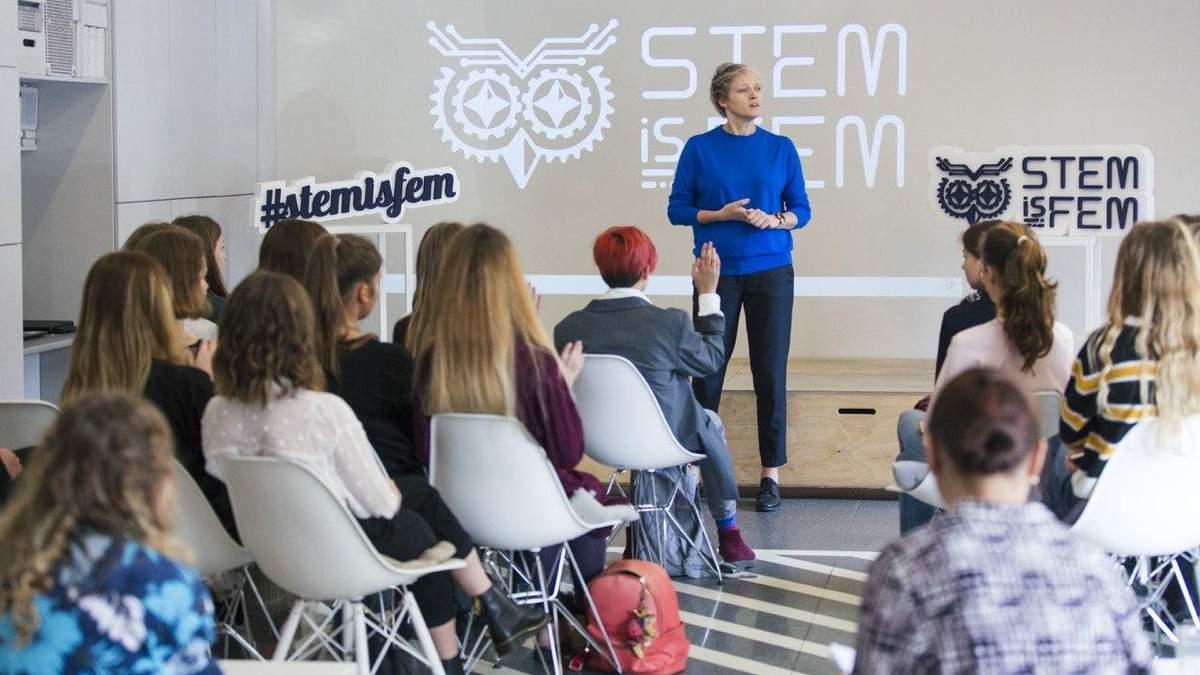 Українські школярки познайомились із біотехнологіями разом із STEM is FEM