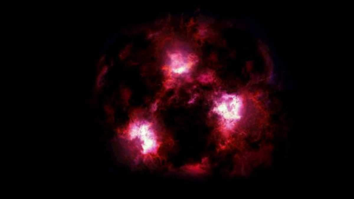 """Ученые обнаружили """"мифическую"""" галактику"""