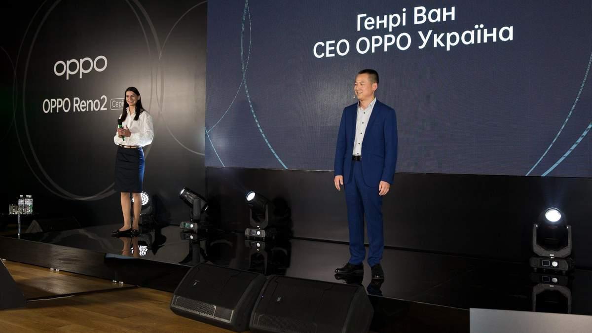 OPPO: презентация в Киеве