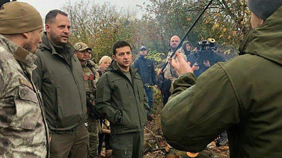 У Золотому Зеленський спілкувався не з військовими, а з порушниками закону, – заява штабу ОС