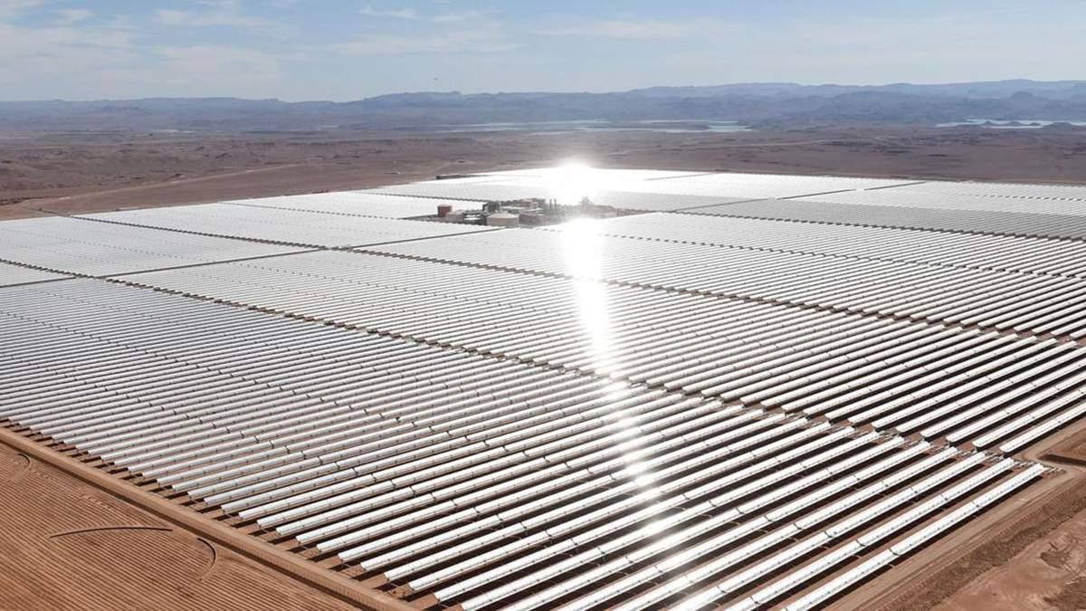 Сонячний парк у Єгипті