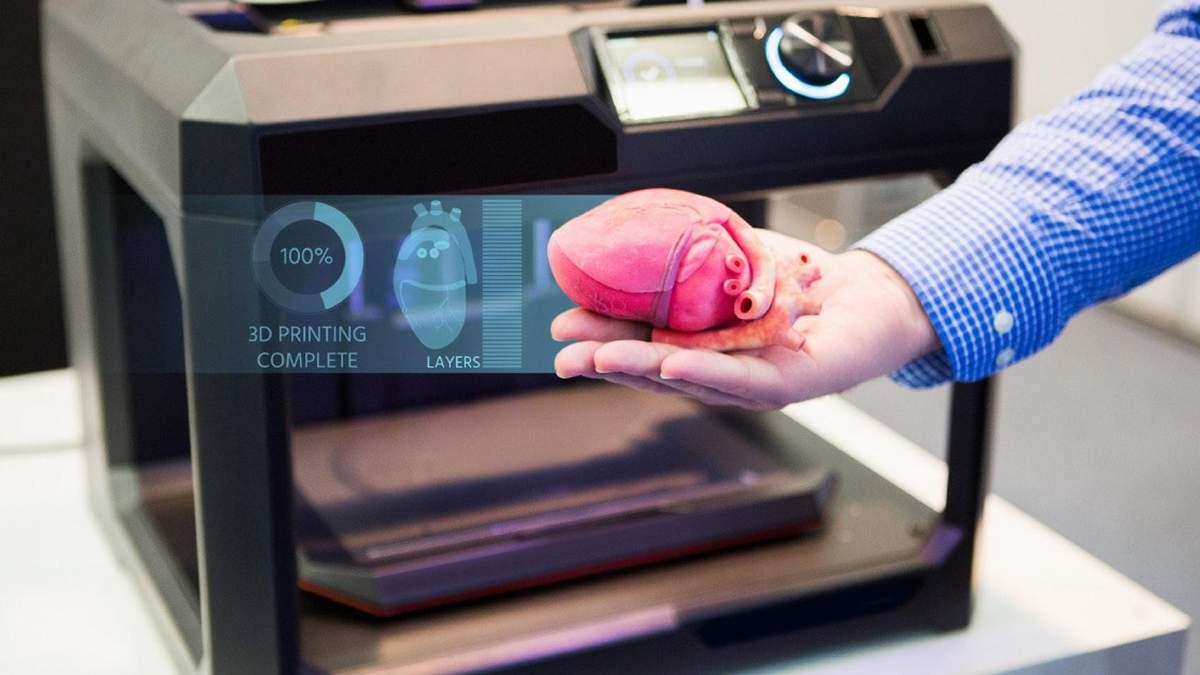 Науковці знайшли спосіб прискорити 3D-друк людських тканин