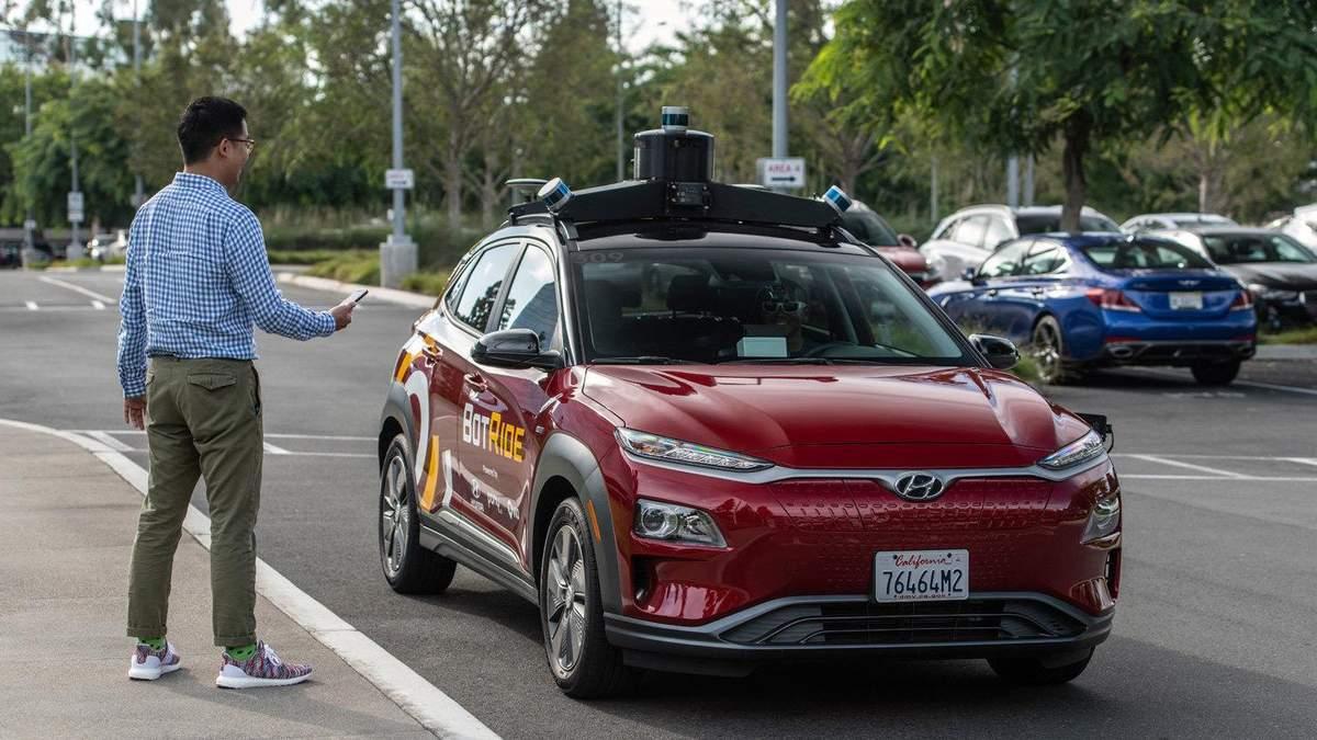 Такси-беспилотники в США