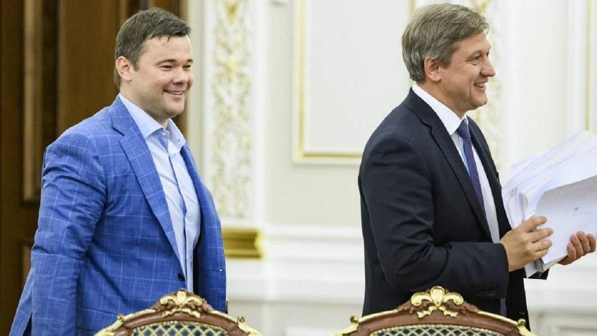 Андрей Богдан и Александр Данилюк