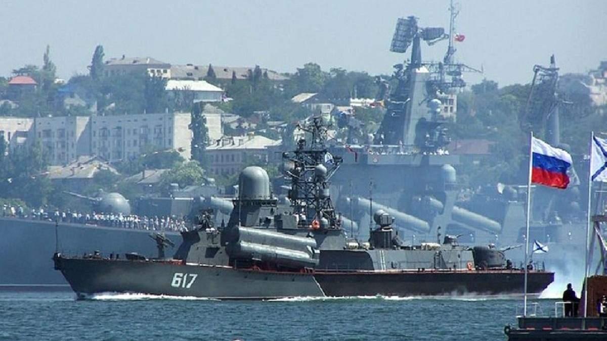 З України намагалися вивезти деталі до російських військових кораблів: фото