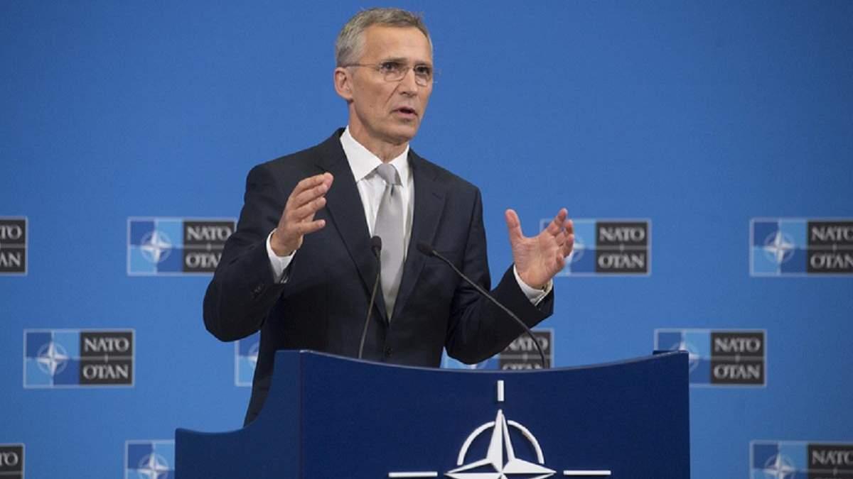 Столтенберг: війну на Донбасі можна завершити лише шляхом довгих рішень та через дипломатію