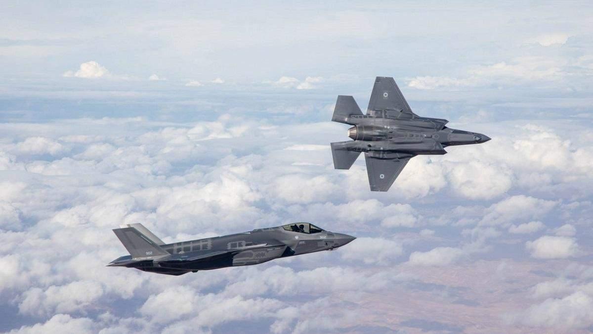 ВВС Израиля обстреляли сектор Газа в ответ на ракетную атаку