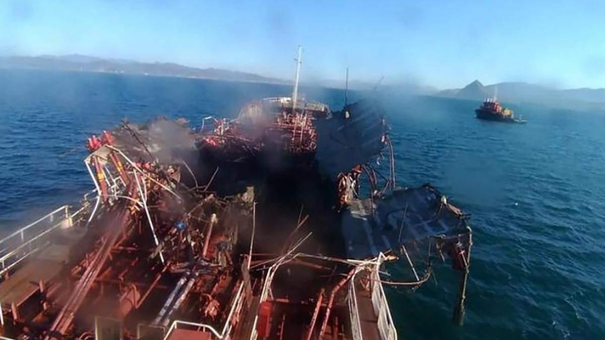 Взрыв прогремел на танкере в Находке