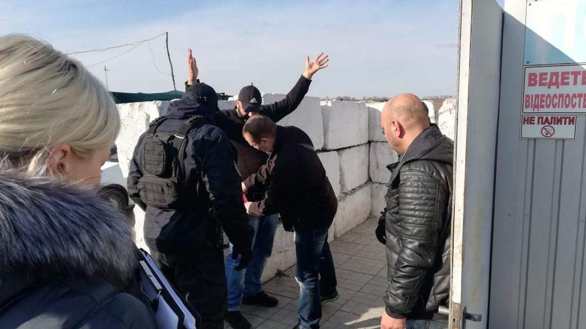 Правоохранители задержали гражданина Турции на блокпосте