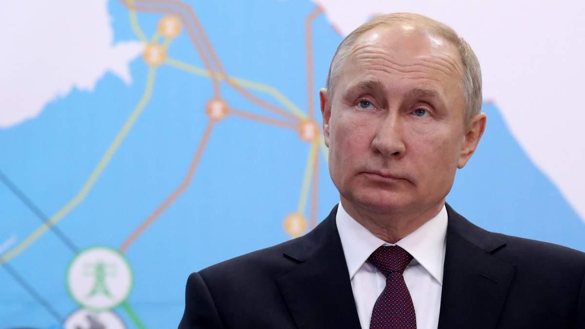 Путин потерпел провал с агрессией в Украине