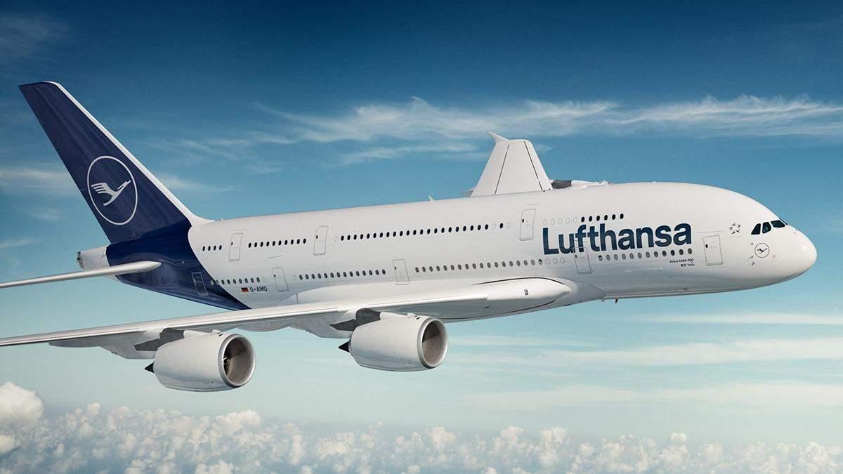 Lufthansa скасовує 1300 рейсів