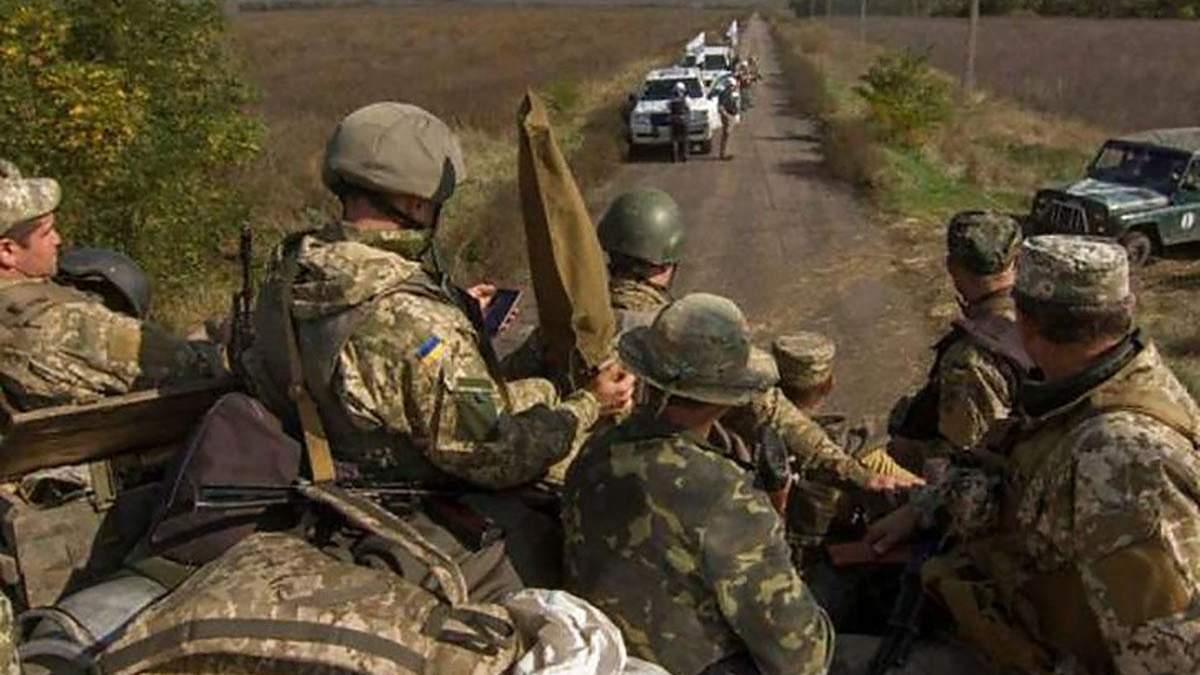 Розведення сил поблизу Петрівського розпочалось - 9 листопада 2019