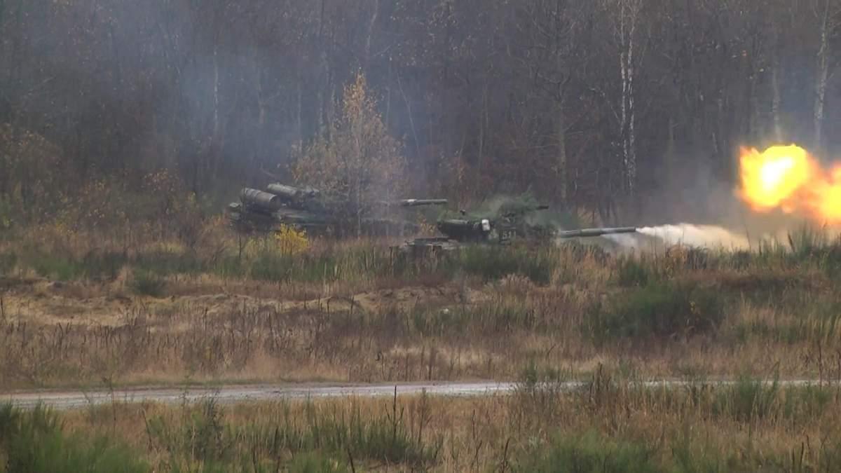 На Яворовском полигоне военные готовятся к возвращению на Восток: фото