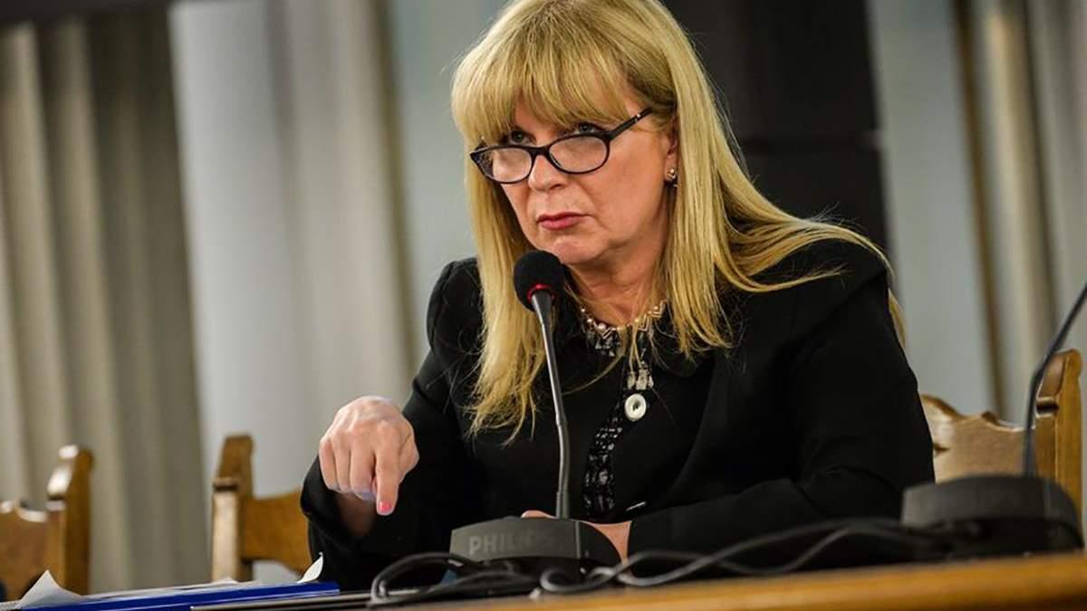 Малґожата Ґошєвська, віцеспікерка Сейму Республіки Польща
