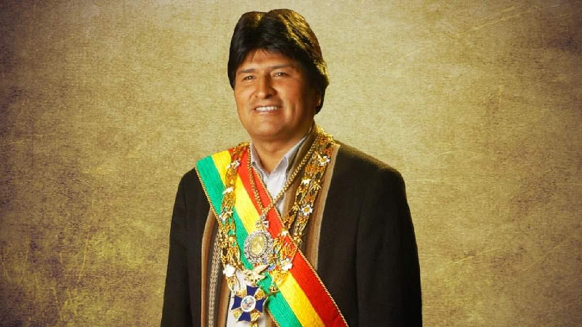Ево Моралес подав у відставку з поста президента Болівії